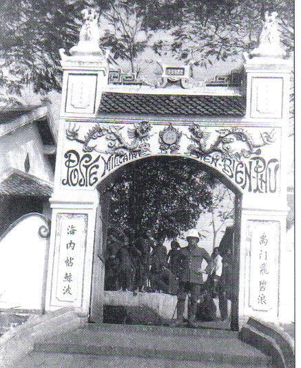 Le bureau de poste militaire de Dien Bien Phu à la belle époque...