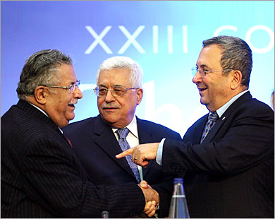 """Mr Talabani, when I'm through with Gaza, it'll be a pleasure to give you a hand in Sadr City"""