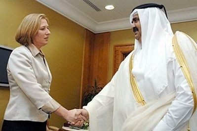 """Nice little dress you've got there, sheikh Hamad"""