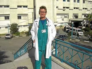 Le chirurgien norvégien Mads Gilbert