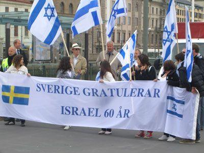 Des Sverigedemokrater parmi les partisans d'Israël