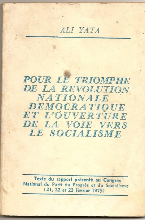 ali yata pour le triomphe de la révolution
