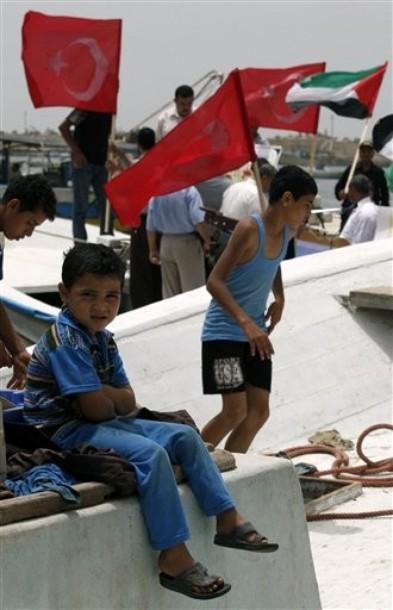 Manifestation à Gaza le 3 juin